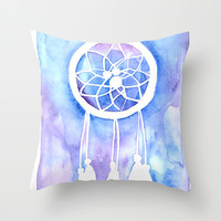 Dream Catcher Throw Pillow by Robin Ewers