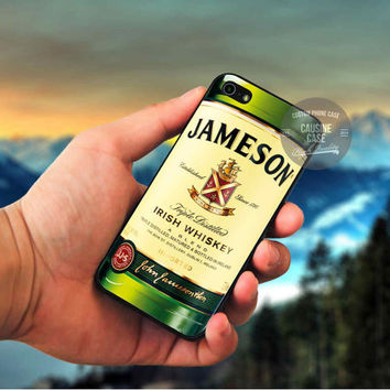 Jameson Irish Whiskey cover case for iPhone 4 4S 5 5C 5 5S 6 Plus Samsung Galaxy s3 s4 s5 Note 3