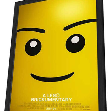 Beyond the Brick: A LEGO Brickumentary 27x40 Framed Movie Poster (2014)