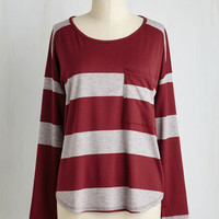 Mid-length Long Sleeve Breather Believer Top