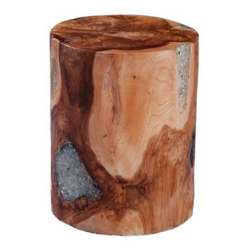 Pene Round End Table
