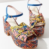 Charlotte Stone Ariane Printed Platform Sandal | Urban Outfitters