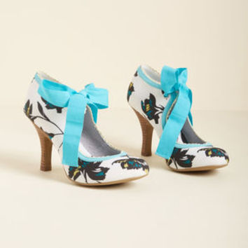 Ruby Shoo Garden Party Glam Heel in Turquoise