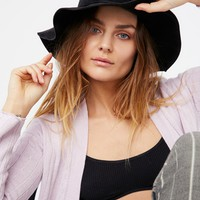 Free People Feelin Lucky Vegan Suede Hat