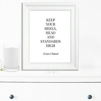 Inspirational Print, Wall Decor, Typography Wall Art, Motivational Print, Inspirational Poster, Teen Gift Ideas, Shabby Chic - PT0019