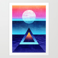 Exploring new dimensions Art Print by Elisabeth Fredriksson