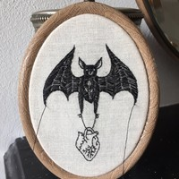 Anatomical heart bat - made to order