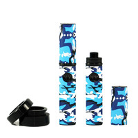 Micro Wax Vape Pen - 2 pens - Blue Camo color combos