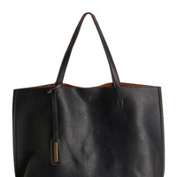 ModCloth Urban Two-Tone to Tango Bag in Black