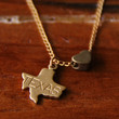 State Love Charm Necklace - all 50 states available!