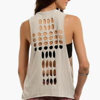 Slash Cross Tank Top $17