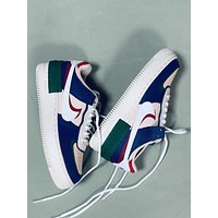Nike Air Force 1 High '07 3'White/Red  Women Casual Shoes Boots  fashionable casual leather