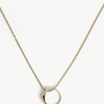 MAISON MARGIELA Two-tone ring necklace