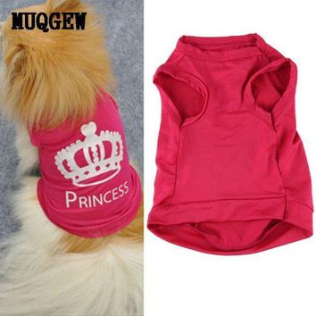 DCCK8JO Dog Clothes For Small Dogs chihuahua winter clothes clothing for dog vest girl Princess chihuahua puppy dog coat roupa cachorro