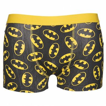 Men's DC Comics Batman Logo Boxer Shorts : TruffleShuffle.com