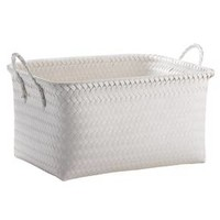 Large Woven Rectangular Storage Basket - White - Room Essentials™ : Target