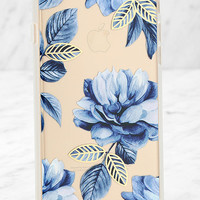 Sonix Clear Indigo Blue Floral Print iPhone 6 and 6s Case