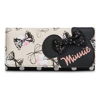 Minnie Mouse Canvas Wallet for Women by Loungefly