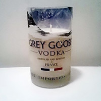Grey Goose Vodka Bottle Gorgeous Soy Candle