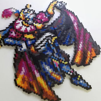 Giant Unframed Kefka Sprite (Framing Instructions Included)
