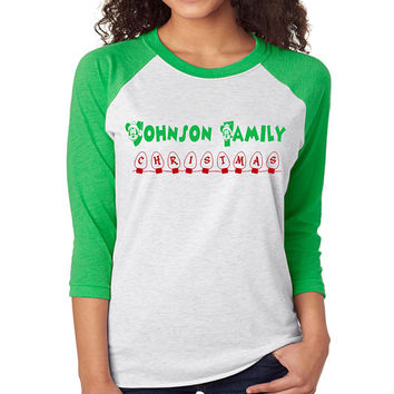 Disney Family Holiday Raglan // Crew Neck // Hoodie // T-Shirt //