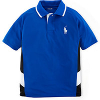 Ralph Lauren Childrenswear Boys 8-20 Active Mesh Polo Shirt