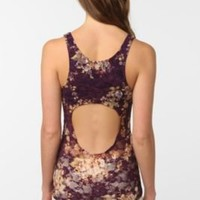 UrbanOutfitters.com > Pins and Needles Floral Lace Backless Tank Top