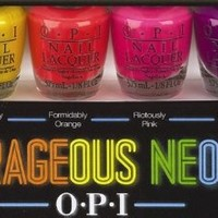 OPI: Outrageous Neons Set (6 Mini polish 3.75ml)