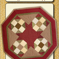 Pattern Octagon Table Topper by Sew Biz