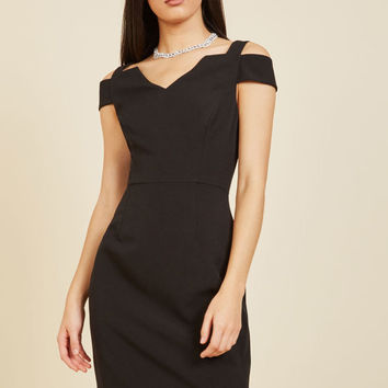 Craving Chic Sheath Dress in 10