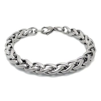 Hot Sale New Arrival Shiny Great Deal Awesome Gift Stylish Titanium Korean Simple Design Men Bracelet [6526712323]