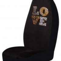 Love Animal Print Car Seat Cover Girly Car Accessory