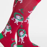 Horn for the Holidays Knee High Socks