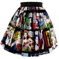 Retro Comic Strip Skirt