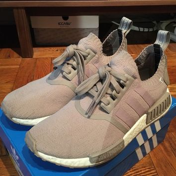 Adidas NMD R1 PK French Beige Sz 8.5 S81848 Ultra Boost Yeezy EQT Runner