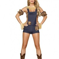 6 PC Scarecrow Maiden Costume @ Amiclubwear costume Online Store,sexy costume,women's costume,christmas costumes,adult christmas costumes,santa claus costumes,fancy dress costumes,halloween costumes,halloween costume ideas,pirate costume,dance costume,co