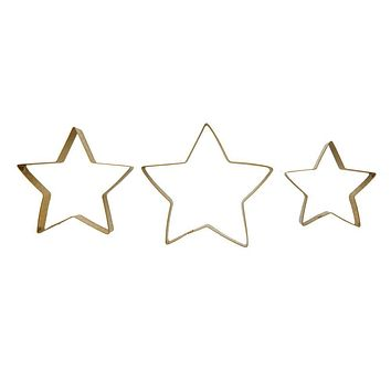Stainless Steel Star Cookie Cutters