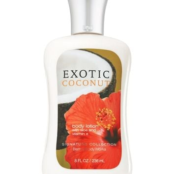 Exotic Coconut Body Lotion   - Signature Collection - Bath & Body Works