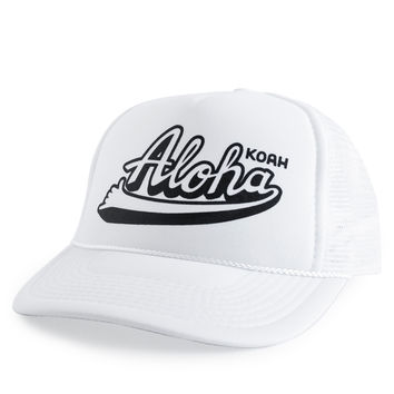 Koah Brand Aloha Hats in Shell