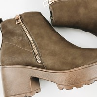 Pony Up Clog Boots