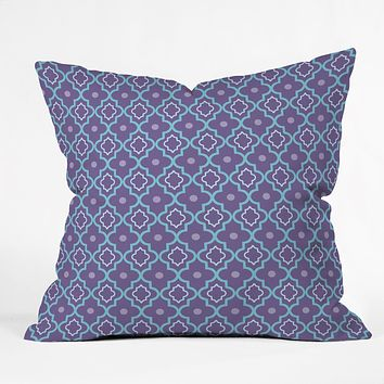 Caroline Okun Tangiers Throw Pillow