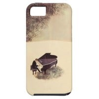 Pianist Concert Hall Piano Player Music Instrument Case For iPhone 5/5S