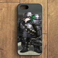 Pug Metal iPhone 5S Case
