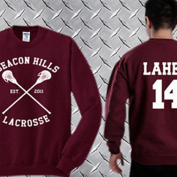 Isaac Lahey 14,Teen Wolf  Custom Crewneck Sweatshirt for Unisex adult made by USA