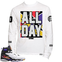 OutRank Apparel All Day 3 Peat 8s Long Sleeve Tee