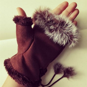 Yan & Lei Cony Hair Palm Warmer in 6 Color