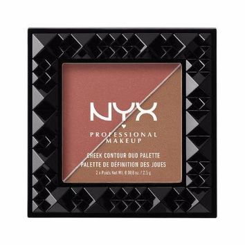 NYX Cheek Contour Duo Palette - Wine & Dine - #CHCD04