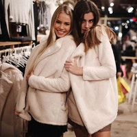 Fashion 2016 Trending Fashion Wool Fleece Super Warm Cute Sweater Cardigan Coat Jacket Outerwear _ 9520