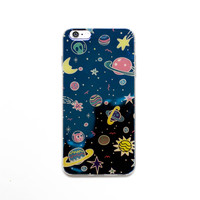 Galaxy Hologram Reflected iPhone Case