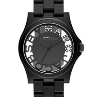 Marc By Marc Jacobs Ladies Crystallized Henry Skeleton Watch